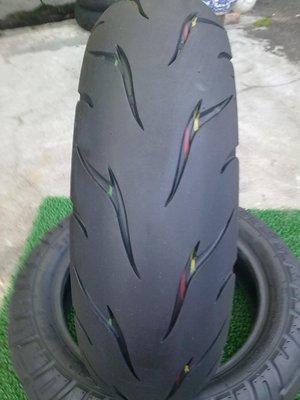 優質華豐DM1203熱熔中古胎  130/70/12吋(九成新.無補)   完工價1000  備有拆胎機
