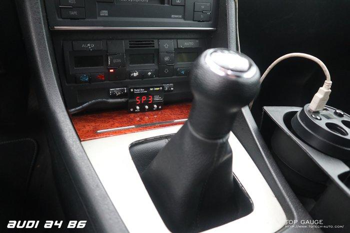 【精宇科技】Top Gauge AUDI A4(B6B7) Pedal Box 電子油門加速器 免 OBD2