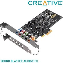【MR3C】含稅【公司貨】CREATIVE創新未來 Sound Blaster Audigy Fx PCI-E音效卡
