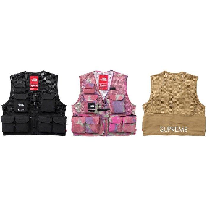 【紐約范特西】預購 SUPREME SS20 The North Face Cargo Vest 工裝背心