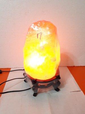 【九龍藝品】鹽燈 ~ 重量約7公斤【B】