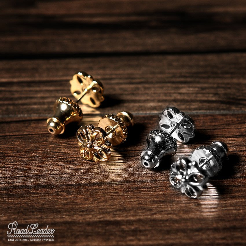 [PURE by TAKI] 十字LOGO耳環 TAKICREW Cross Logo Earring  十字花耳環