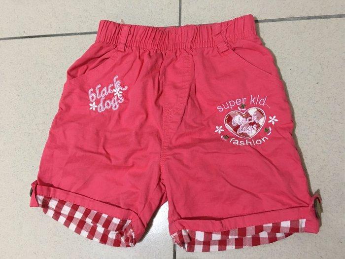 二手 女童童裝 粉紅色短褲