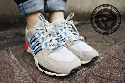 【A-KAY0 5折】ADIDAS X PACKER SHOES EQT SUPPORT 米灰天藍銀紅【C77363】