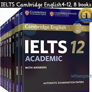 IELTS 雅思 4-13  past paper  $150 for all 最新版 pdf file