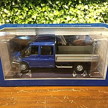 1/43 Minichamps Ford Transit Pick Up 2001 Blue【MGM】