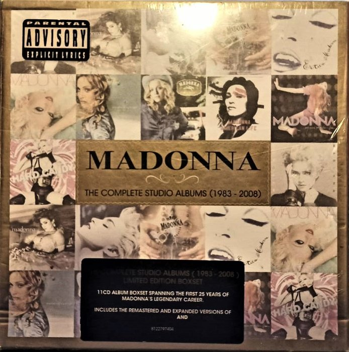 Madonna / The Complete Studio Albums (1983-2008) (11CD) 全新未拆