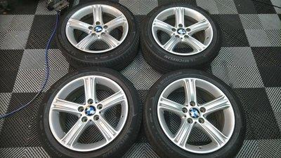 極新 BMW原廠17吋鋁圈 含米其林PRIMACY3失壓續跑胎225/50/17 F31 F30 F10 F36