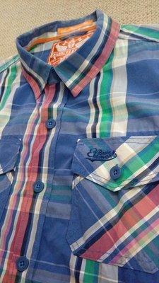 basic element XL 高質感格紋長袖襯衫 ZARA UNIQLO AF Tommy CK AE 新北市