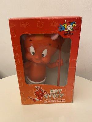 美國懷舊卡通 Hot Stuff the Little Devil 存錢筒 小惡魔 紅魔鬼 撲滿 公仔 復古收藏玩具