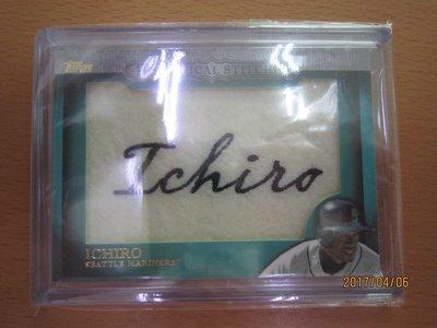 網拍讀賣~Ichiro~傳奇球星~鈴木一郎~Historical Stitches~普特卡~共1張~500元~輕鬆付~~