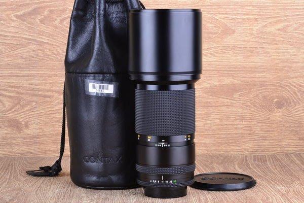【高雄品光攝影】CONTAX C/Y Carl Zeiss TESSAR T* 300mm F4 MMJ #24684A