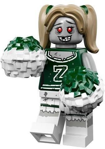 現貨【LEGO 樂高】益智玩具 積木/ Minifigures人偶系列: 14代人偶包抽抽樂 71010   殭屍啦啦隊