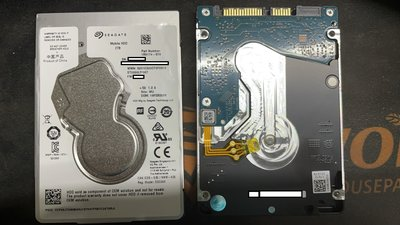 Seagate 2.5吋 2TB 硬碟 OEM ST2000LM007 PS4 XBOX可用 7mm