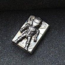 😈代購 正版Zippo黑冰 設計師加工改造 Iron Man MK2 打火機😈
