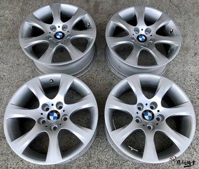 二手/ 中古鋁圈 BMW 17吋 5孔120 原廠 銀 E90 E92 335 E46 E36 320 F30 F31 新北市