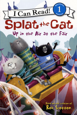 *小貝比的家*ICR:SPLAT THE CAT :UP IN THE AIR AT THE FAIR /平裝/3~6歲