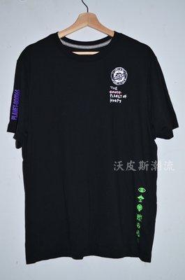 沃皮斯§NIKE 籃球星球 標語 黑色 短T CW4817-010