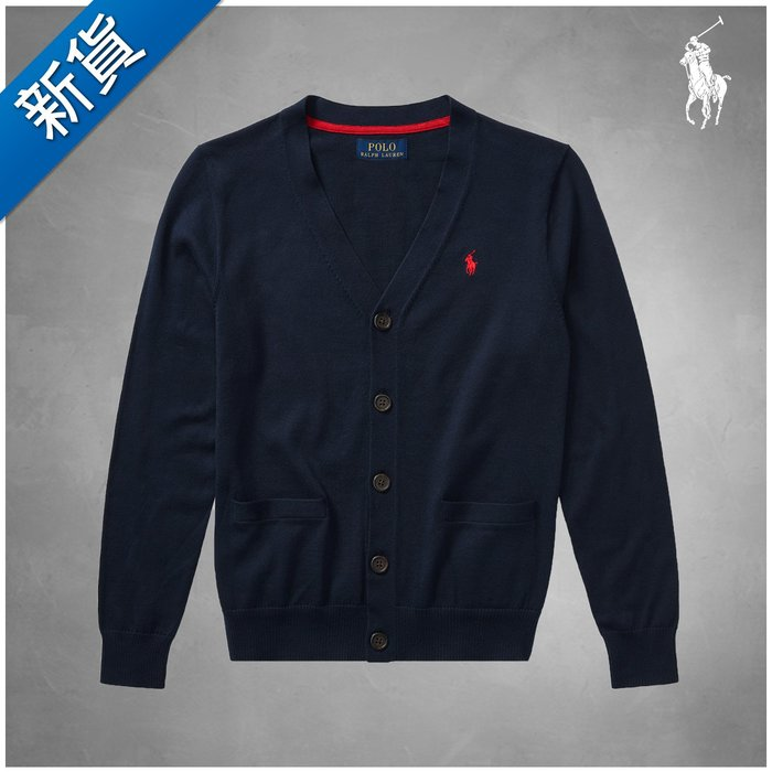 新貨【FH.cc】Polo Ralph Lauren 薄開襟針織衫外套 Cotton V-Neck Cardigan