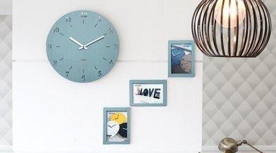 ZIHOPE MANDELDA鐘錶掛鐘客廳創意時鐘家用簡約現代時尚個性臥室靜音掛錶ZI812