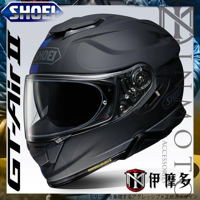 伊摩多※公司貨 日本SHOEI GT-AIR II 2全罩安全帽 加長內墨片 通風透氣 REDUX TC-2 藍黑