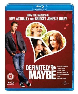 BD 全新英版【愛情三選一】【Definitely , Maybe】Blu-ray 藍光