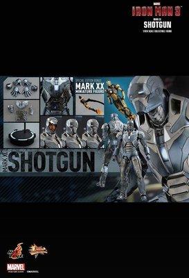 全新 Hot Toys 1/6 MMS309 限定版 鋼鐵人3 獵槍 馬克40 MK Mark XL Shotgun