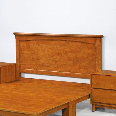 【在地人傢俱】19 歡樂購-日式實木柚木色3.5尺床頭片 KH153-3