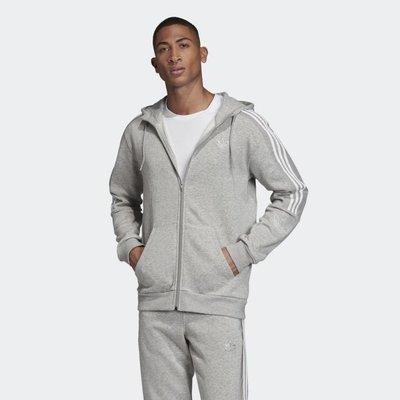 南 2019 11月 Adidas OUTLINE HOODIE ED4694 灰 三葉草 休閒帽T長袖 愛迪達 男款