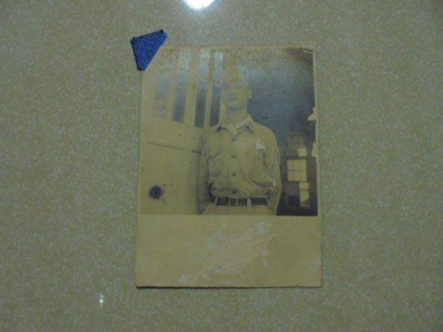 早期是否二次大戰美國名將史迪威將軍黑白照片1張*牛哥哥二手藏書(請告知)