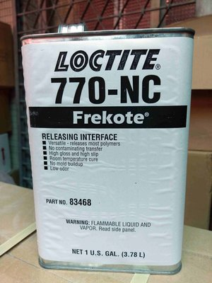 FRP材料小舖..LOCTITE 770-NC類鐵氟龍萬能蠟脫模蠟離型劑FREKOTE..擦一脫十只要3700元