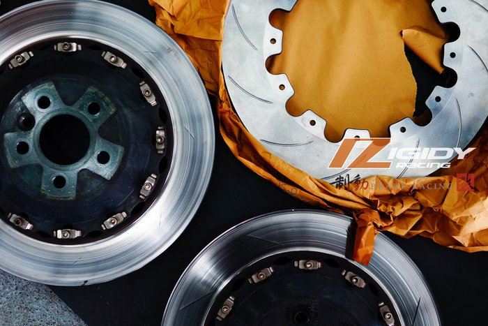 AP RACING CP-9040 訂製六活塞卡鉗專用盤 外盤更換 清潔 保養 浮動塊更換 煞車油更換 / 制動改