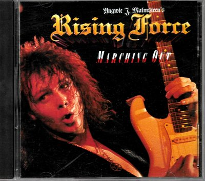Viewing J. Malmsteen's Rising Force / Marching Out(銀圈美版)