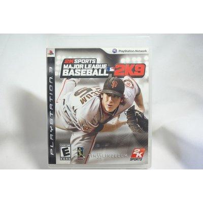 [耀西]二手 美版 SONY PS3 職棒大聯盟 MAJOR LEAGUE BASEBALL 2K9 含稅附發票