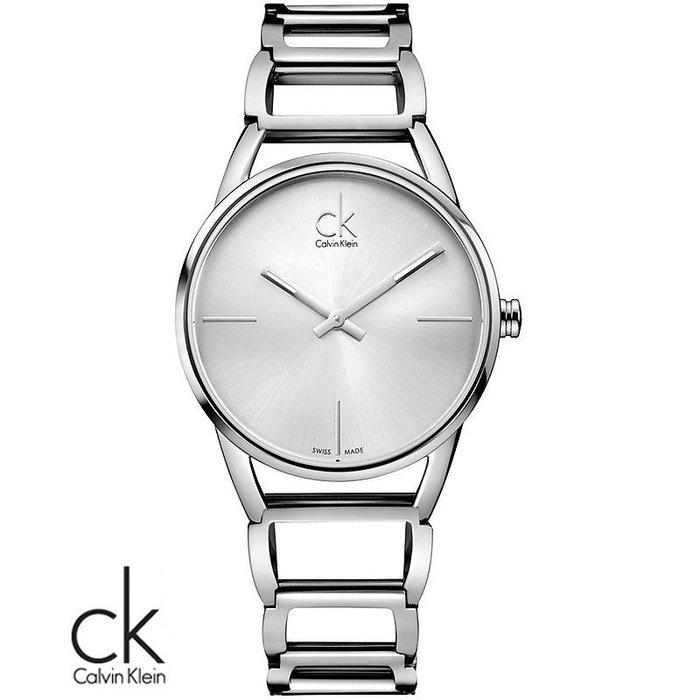 金永珍珠寶鐘錶*CK手錶Calvin Klein 原廠真品最新主打K3G23126女錶 聖誕禮物送鍍膜*