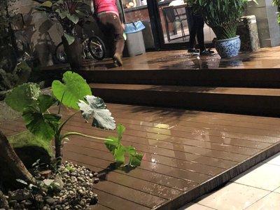 室外地板塑木地板13800元/坪含施工/北部施工/台北/桃園/新北市/基隆/宜蘭