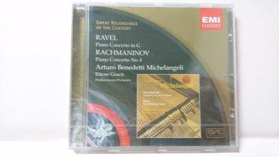 【鳳姐嚴選二手唱片】RACHMANINOV / RAVEL 拉威爾:G 大調鋼琴協奏曲 (全新品)