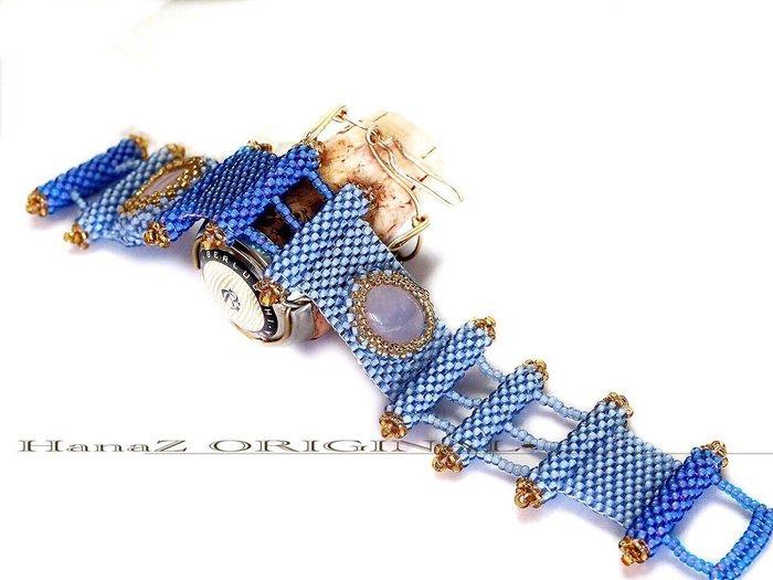 銀囍手作飾物~獨家僅有 歐洲時尚潮流最IN商品 串珠/手工編織手環 高質感日本珠 粉晶 品牌如我 真愛一生