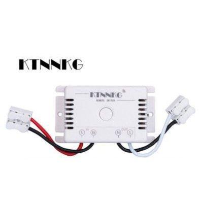 433頻率LED接收器 雙路繼電器同時斷電 多段式電燈接收器