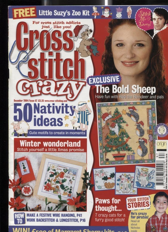紅蘿蔔工作坊/美國刺繡書=Cross Stitch crazy No.67