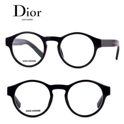 Dior Homme►Blacktie (黑色框×銀色) 貓眼圓框 眼鏡 光學鏡框 中性款|100%全新正品|特價