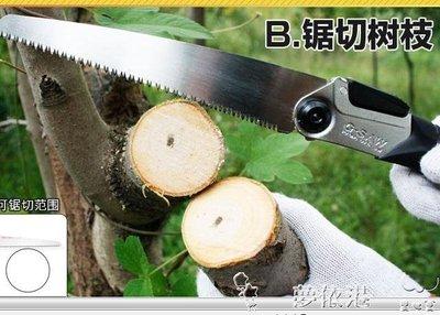 田島鋸子手鋸木工鋸折疊鋸手工鋸刀鋸伐木鋸園林果樹家用木工工具LX