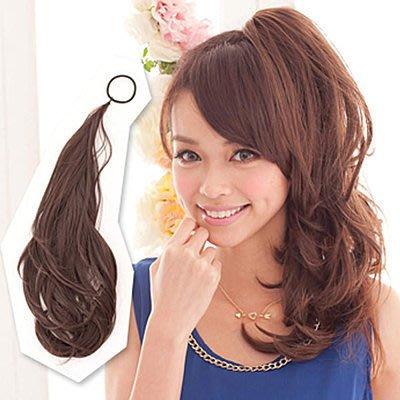 ☆雙兒網☆HOT!材質再升級新耐熱假髮【MT010】多用途鐵絲髮條可當馬尾包包頭