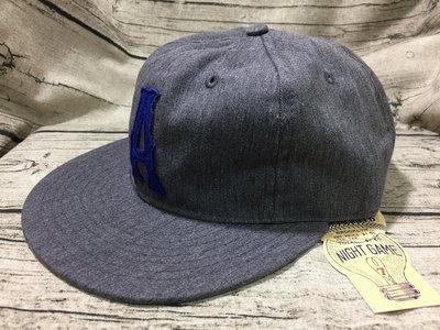 《Classic Hunter》全新美國製Ebbets Field Flannels【大A字樣-手工復古棒球帽】可調尺寸