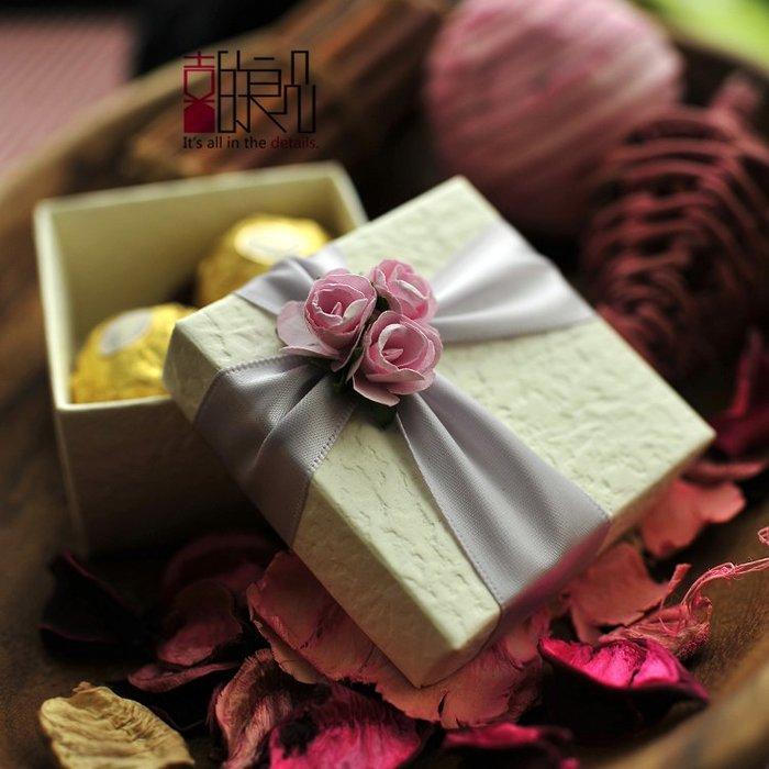 衣萊時尚-熱賣款  喜糖盒子 歐式創意結婚婚禮糖果盒婚慶用品 SD09