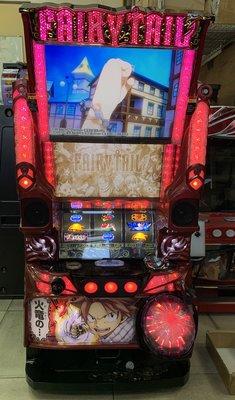柯先生日本原裝SLOT斯洛拉霸機台2018 魔導少年 妖精的尾巴雙螢幕大型電玩機台民宿遊戲室日式餐廳佈置微電影道具場景