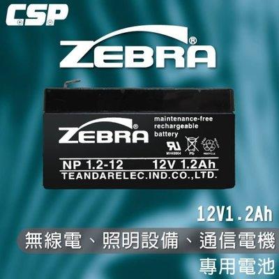 【鋐瑞電池】NP1.2-12 (12V...