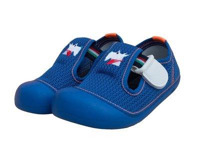 MIT 室內鞋袋組 台灣製 neomnworks 幼兒園室內鞋 Scot 8379 寶藍 手工透氣童鞋+防潑水室內鞋袋
