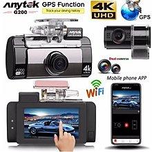 ANYTEK G200  4K Wifi 24小時長錄車CAM)(一年原廠保養) 4K超高清前後鏡Wifi 行車記錄儀 車CAM 行車紀錄儀 夜視功能