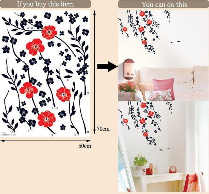 【皮蛋媽的私房貨】韓國進口壁貼&壁紙*室內設計/裝飾*秋天的微風